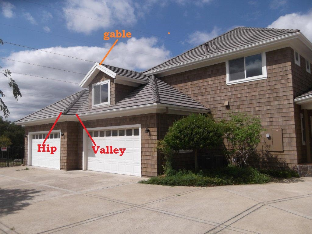 roofing Lingo - Hip and Valley